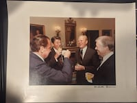 Actual White House Photo of Presidents, Signed by Assigned White House Photographer Pittsburgh, 15203
