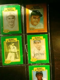 four assorted trading card collection Beckley, 25801