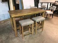Dining table with 4 stools- Bar Table with stools brand new Pineville, 28134