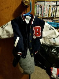Little kid jacket Boston red socks jacket Westfield, 01085