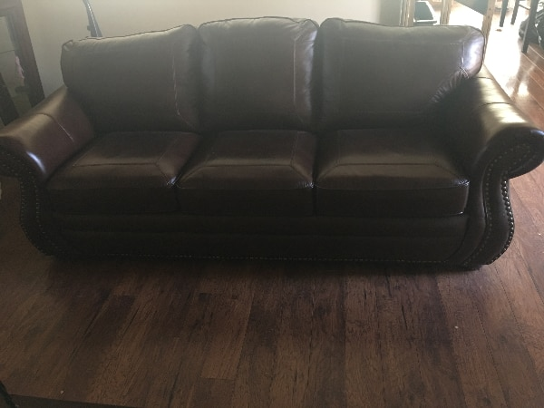 Used Kittles Leather Sofa For In