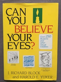 Can You Believe Your Eyes? book of 250+ visual illusions/oddities, new