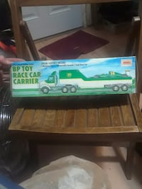 BP Toy race car carrier box (1993 ltd edition)