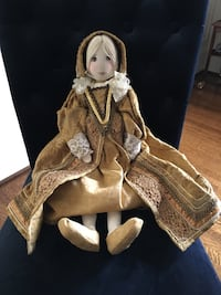 Collectible Polly Nassim Doll