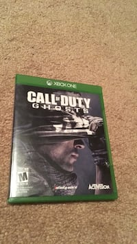 Call of Duty Ghosts Xbox One game case Cherry Hills Village, 80121