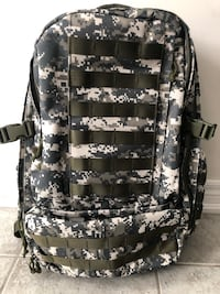Tactical Hiking Hunting Camping Outdoor Digital Camo Backpack