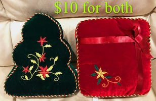 Brand new small Christmas cusions for sale