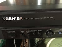 Toshiba SD-4800 DVD player West Lincoln, L0R