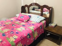 Queen bed with mattress Surrey, V3W 1P7