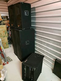 Professional DJ Speakers and Amp package Waldorf, 20603