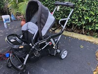 Sit and stand stroller for 2 kids Deerfield Beach, 33441