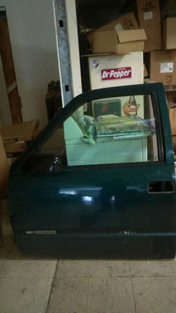 Used 98 Chevy Truck Door Complete W Glass And Panel For Sale In