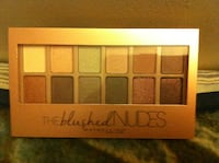 12 colors eye-shadows, The blushed Nudes; Maybelline/brand new Burnaby, BC, Canada