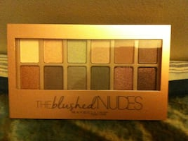 12 colors eye-shadows, The blushed Nudes; Maybelline/brand new