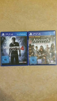 zwei Sony PS4 Game Cases Kassel, 34117
