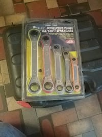 stainless steel Pittsburgh ratchet wrench set