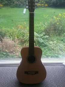 lightly used, martin acoustic guitar