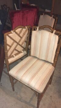Antique Bamboo Style Chairs
