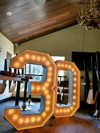 Marquee Numbers Rental Hamilton