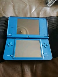 blue Nintendo DS with case Brampton, L6Z 4L4