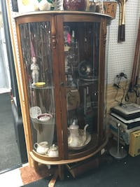 Curved Glass China Cabinet  Islip, 11788