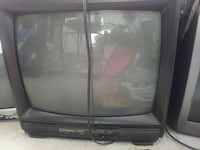 black CRT TV Temple Hills, 20748