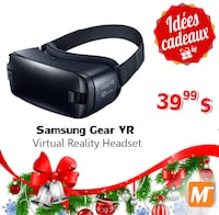 black and gray VR headset Montreal