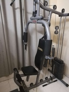 TOTAL home gym station