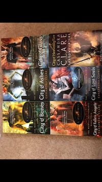 Complete shadowhunter book series x6 , TS25 4BF