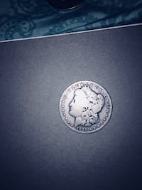 Collectible real silver coin Burke, 22015