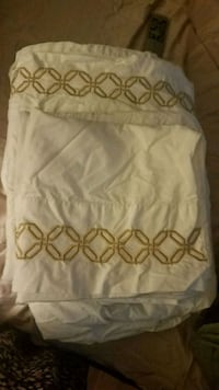 white and brown floral textile Bristow