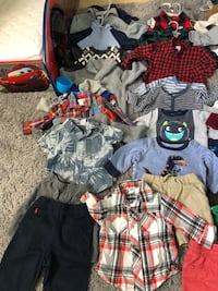 """Lot of boy clothes 6-12m. Most pieces are in """"Like new"""" condition.  Oceanside, 92056"""