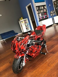 red and black sports motorcycle Shirley, 11967