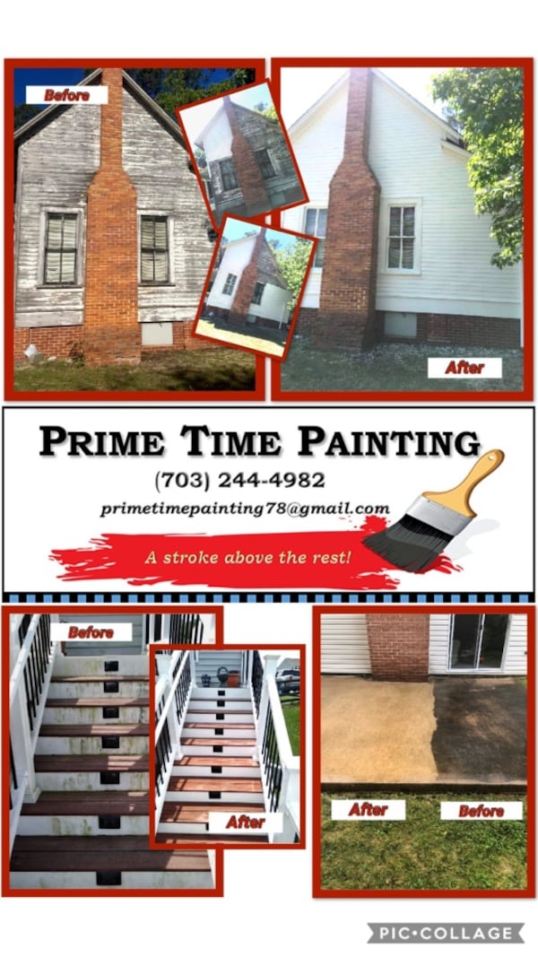 PRIME TIME PAINTING - ( (Phone number hidden by letgo)  f324b931-6c92-4053-9c5f-7948ff4ed5e7