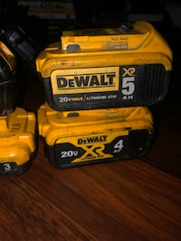Dewalt screw gun and batteries Norfolk, 23518