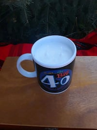 40th Birthday Vanilla Lavender Soy Candle Mug  Brampton