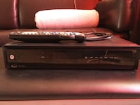 Cable box - Motorola with remote and HDMI cable
