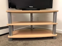 TV wood stand Burnaby