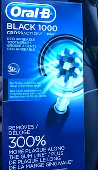 Oral-B rechargeable toothbrush box Calgary, T3J 2B4