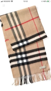 Authentic Burberry Scarf Mississauga, L5H 2S2