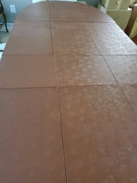 Solid Wood French Dining Room Table, Chairs And Custom Table Pads