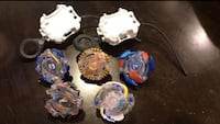 5 Beyblades & 2 Launchers  Fountain Valley, 92708