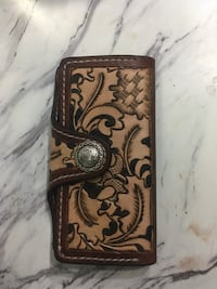 Brown and black leather wallet Sherwood Park