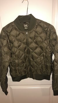 Tna puffer bomber jacket (olive) Coquitlam