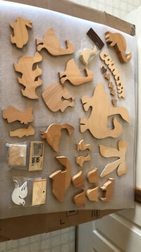 WOODEN PIECES ASSORTMENT ALL NEW FOR ANY CRAFT PROJECT Littlestown, 17340