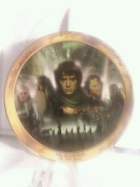 Lord of the Ring collectible plates 24 karat gold Indianapolis, 46227
