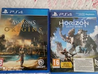 PS4 Oyun . Assasin Creed ve Horizon Zero Dawn Yeşilbayır Mahallesi, 06270