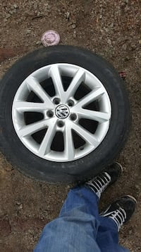 Used Vw Stock Rims With New Tires For Sale In Paso Robles