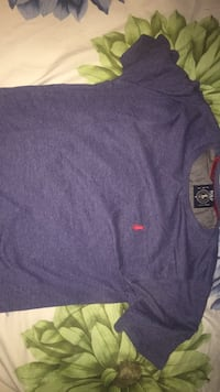 Blue and red polo t shirt size small Calgary, T3R 0M3
