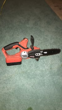 Black & decker electric chainsaw with battery